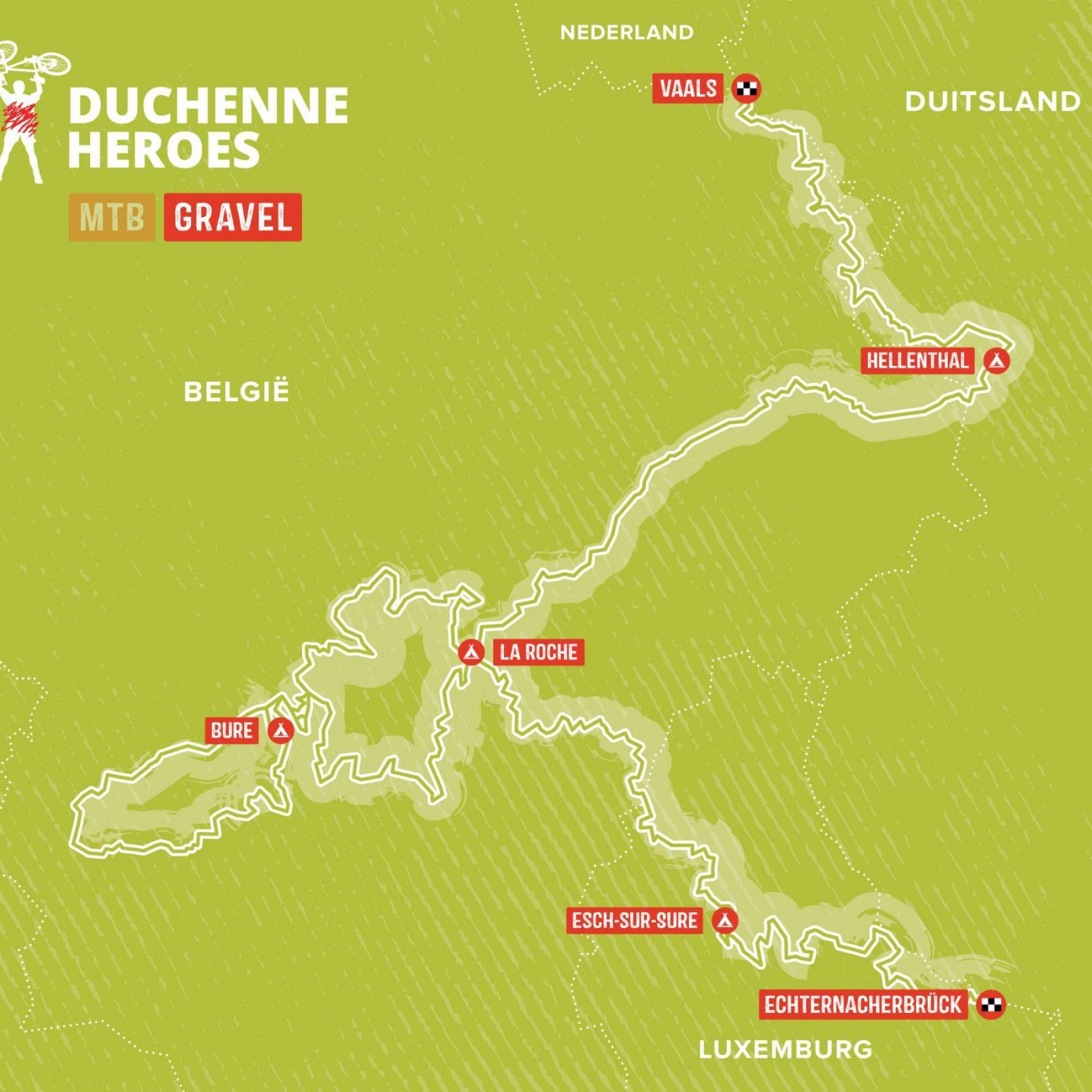 Gravel Route Duchenne Heroes