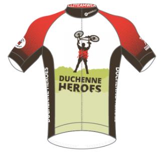 shirt van Duchenne Heroes 2019