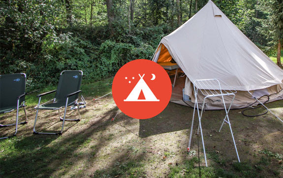 afbeelding camping
